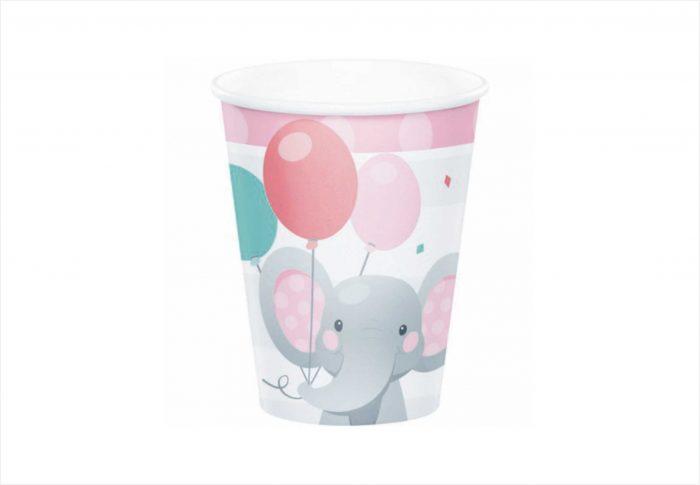 bicchiere elefantino
